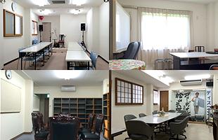 大小4つの部屋のイメージ